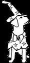 ペットセレモニーお星さまキャラクター犬の画像