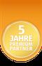 Logo ImmoScout Premium Partner 5 Jahre