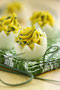 Oeufs mimosa - ciboulette