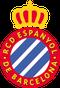 Das Wappen von Espanyol Barcelona