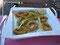 Danas Vorspeise: Tintenfischringe - Danas starter: Calamarie-rings