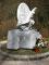 Hier ein Denkmal für einen italienischen Radfahrer der Tour de France, der auf der Strecke einen tödlichen Unfall hatte.