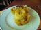 Ein Nachtisch... Ein Apfel (warmserviert - War wie Apfelmus in Schale)