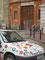 Die Kunsthochschule. (Ich schätze mal das Auto gehört zu einem der Studenten...)