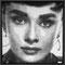 Audrey Hepburn  97 x 97 cm
