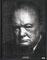 Winston Churchill  123 x 96 cm