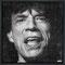 Mick Jagger#2  97 x 97 cm