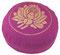 """Meditationskissen Yogakissen Zafu Gr.S """"Lotus"""" rotviolett"""