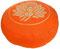 "Meditationskissen Yogakissen Zafu Gr.S ""Lotus"" orange"
