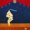 <夜の演舞〜第三回日本祭より〜  the dance of night (the Japan Festival vol.3 at PONI)>30x30cm 2011 acrylic gouache