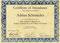 Simpson Protocol Frankfurt - Zertifikat Adrian Schmieder