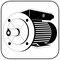 B3/5, der Fuß/Flansch-Motor, die Kombinationsbauform des IEC Normmotors, großer Flanschring.