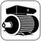 B3, der Fußmotor, die Standardbauform des IEC Normmotors, auch bei EP Motoren.