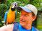 Im Vogelpark - Papageien leben in Brasilien in vielen Variationen