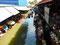 Überdachte Khlongs - Touristen mögen es schattig