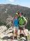 Aufstieg vor dem Aufstieg - Auf dem Little Devils Tower, im Hintergrund das nächste Ziel, der Harney Peak