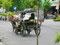 Ein PS - Kuda Andang's sind die Taxis in Yogya