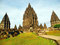 1000 Jahre alt und wieder aufgebaut - Hinduistische Tempelanlage Prabanan