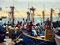 Lebensgrundlage - Fischereihafen in der Wüste bei Paracas im Reserva Nacional de Paracas
