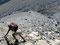 Verschmutzt - Gletscher am Ende des Plains-of-Six-Glacier-Trails