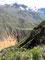 Über 1000 Höhenmeter - Abstieg zum Colca Fluss