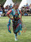 Traditionell - Junges Lakotamädchen beim Festtanz