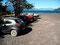 Parken auf Asche - Unser Mazda 2 am Lago Piruheico
