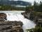 Rauschendes Spektakel - Athabascafalls im Jaspernationalpark