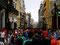 Geschäftig - Fußgängerpassage in Lima