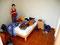 Nur die Ruhe bewahren - Packen im Backpackers Hostel in Paracas