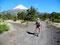 Staubig - Ascheweg am Fuße des Osorno zum Paso Desolacíon