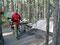 Immer noch kalt - Frühstück auf dem Wapiticampground im Jaspernationalpark
