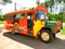 Dieser Chevrolet-Bus von 1956 war der Shuttlebus,...