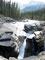 Eingefräst - Mistayafalls im Banff Nationalpark