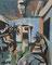 """Aus dem Zyklus """"Wartezimmer"""", 2014, Öl auf Leinwand, 30x24 cm"""