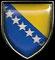Bosnia Herzegovina (escudo nacional).