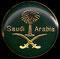 Arabia Saudí (escudo nacional).