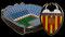 Mestalla - Valencia C.F. - Valencia (España).
