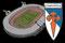 Estadio Multiusos de San Lázaro - S.D. Compostela - Santiago de Compostela (España).