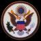 EE.UU. (Escudo nacional).