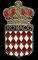 Mónaco (escudo nacional).