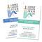 Création de la carte de visite Recto simple pour Lopez Louis Jean SAS