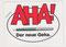 Geha Füller, Aufkleber Sticker Werbung, 1980er