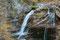 Parte de la cascada de la Cueva en el río Arazas