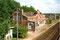 La gare d'Iwuy entre Cambrai et Lourches, peu avant sa démolition - 1999 - Photo MB