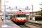 Gare de St Quentin - EAD X 4568/XR 8384 à destination de Laon - Potence de 3 C.V. - 04.10.1997 - Photo MB