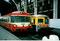 Lille-Flandres, X 4519 et rame TER, image du passé - 30.09.1996 - photo MB