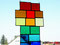 Tiffany Kreuz Fensterbild