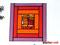 Fensterbild Rote Vielfalt XL Tiffany