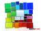 Tiffany Fensterbild Bunte Vielfalt modern